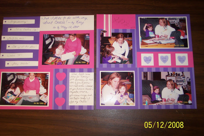 Another scrapbook layout
