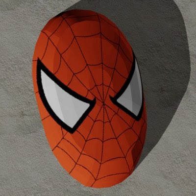 Marvel Papercraft - Spider-Man Mask