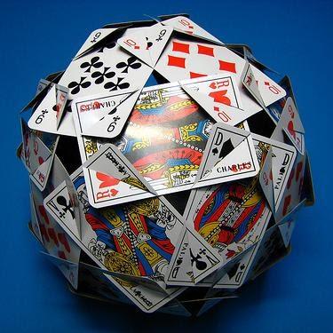 playing card polyhedron. Black Bedroom Furniture Sets. Home Design Ideas