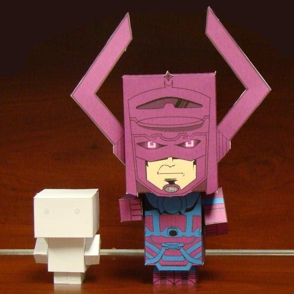marvel comics galactus cubee papercraft jpg