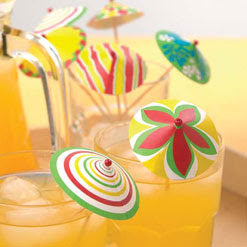 Papercraft, Paper Models and Paper Toys: Papercraft Drink Umbrellas