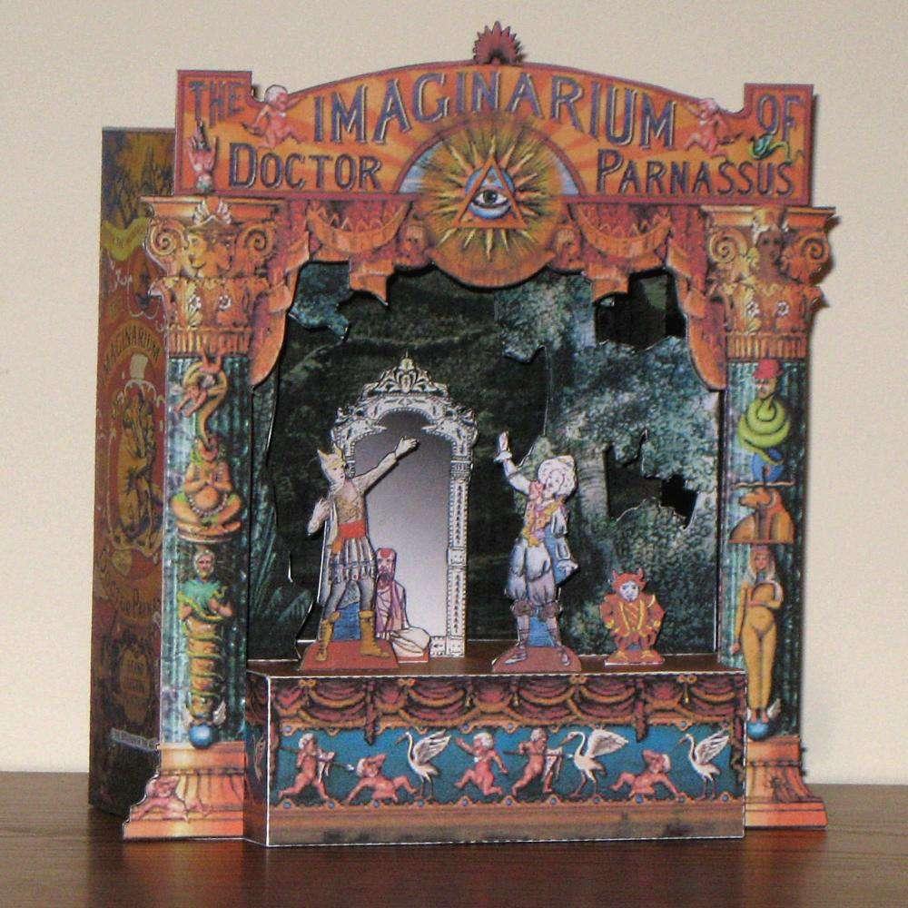 El imaginario del Dr. Parnassus, de Terry Gilliam Imaginarium+of+Dr.+Parnassus+Paper+Theater