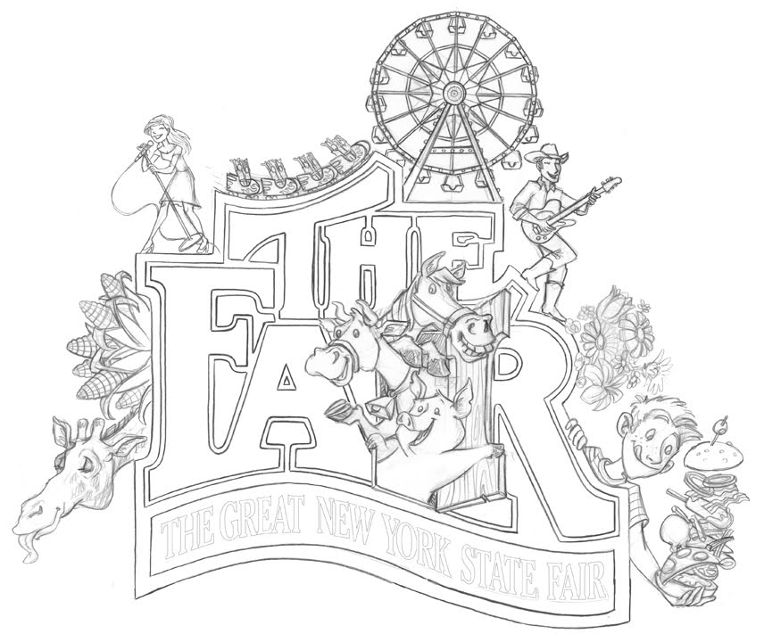 iowa state fair coloring pages - photo#3