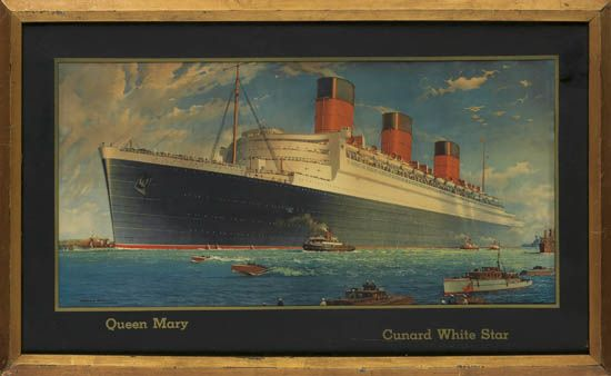 Today is the Cunard Royal Rendezvous. Celebrating Cunard's luxury ships,