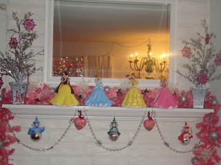 disney princess mantle