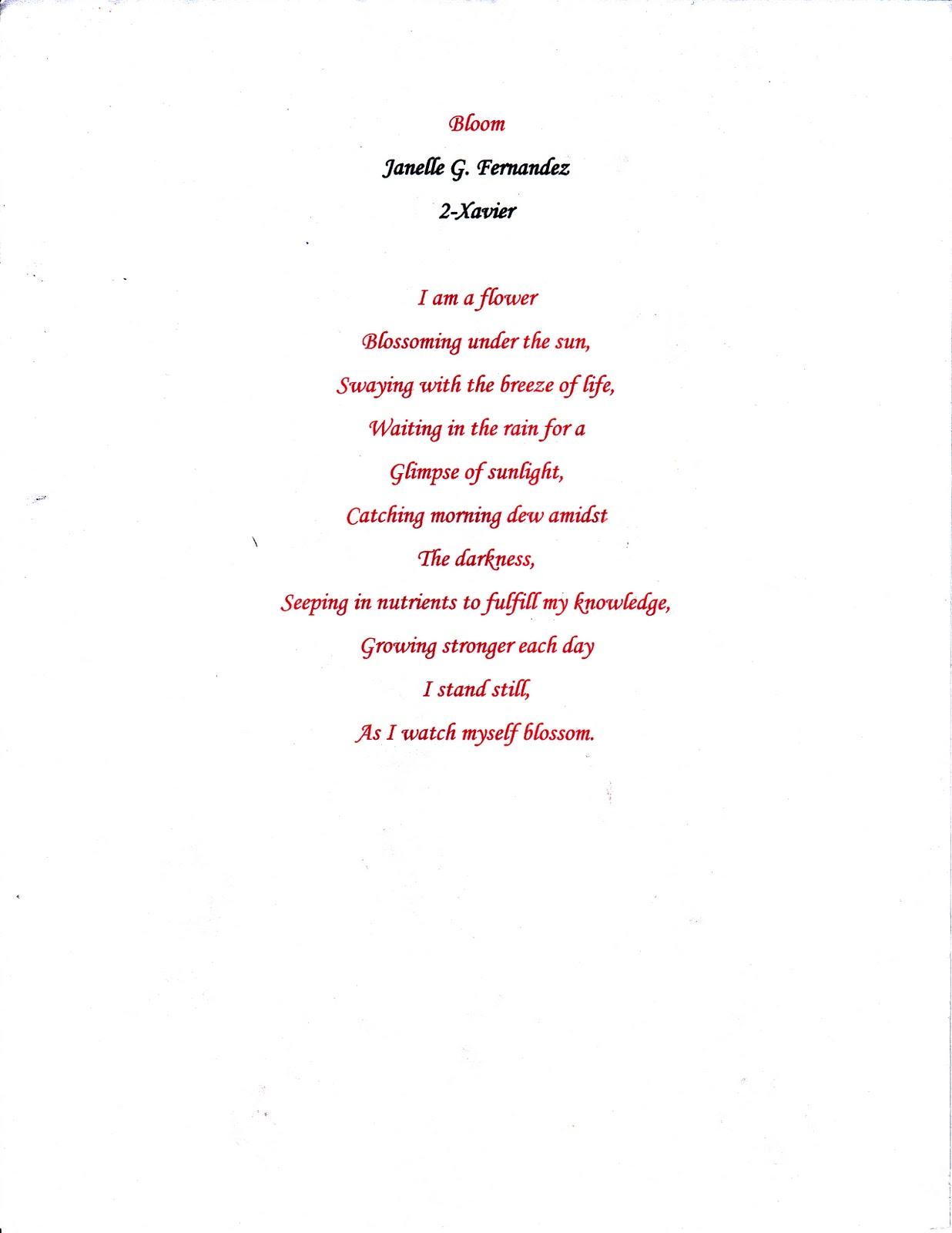 Morning dew poem