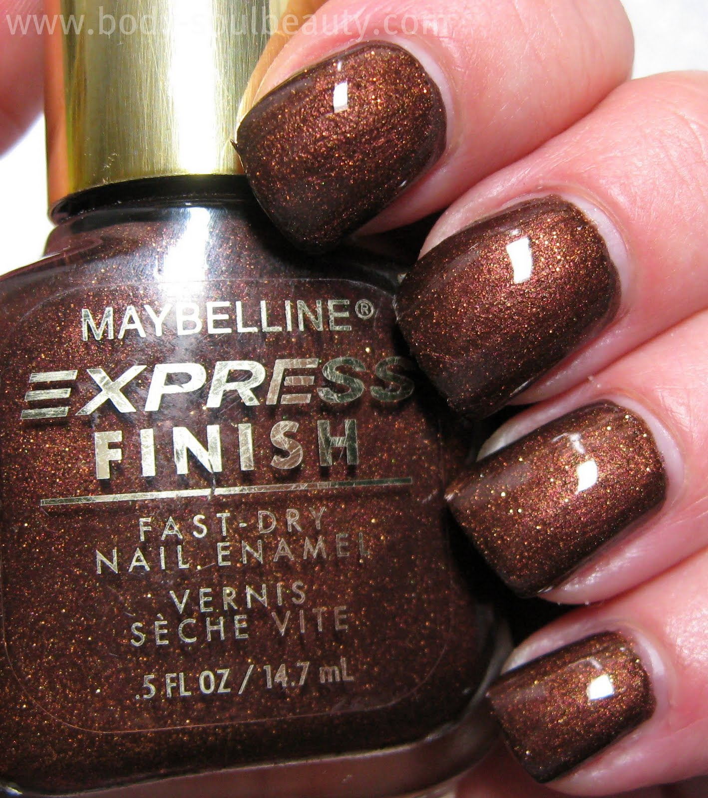 Old School Maybelline Express Finish Shades Body Soul