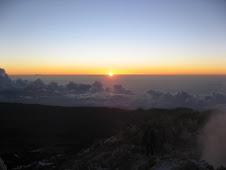 Amanecer en el Pico Teide