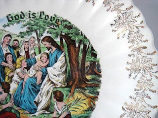 collectible plate by sanders