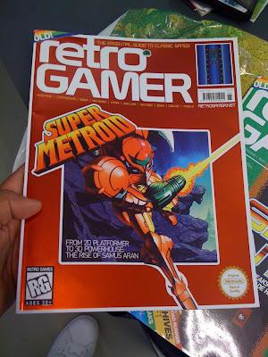 Fotoğraf: Retrogamer dergisi kapağı