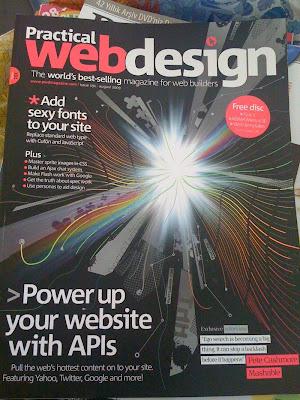 Fotoğraf: Practical Web Design dergisi kapağı