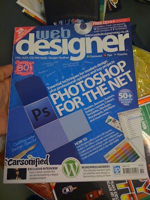 Fotoğraf: Web Designer dergisi kapağı