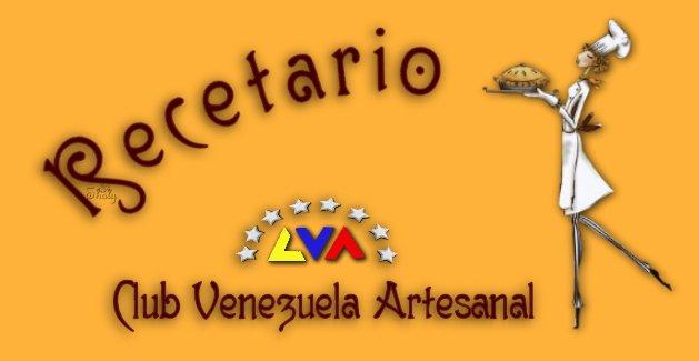 Recetario Club Venezuela Artesanal