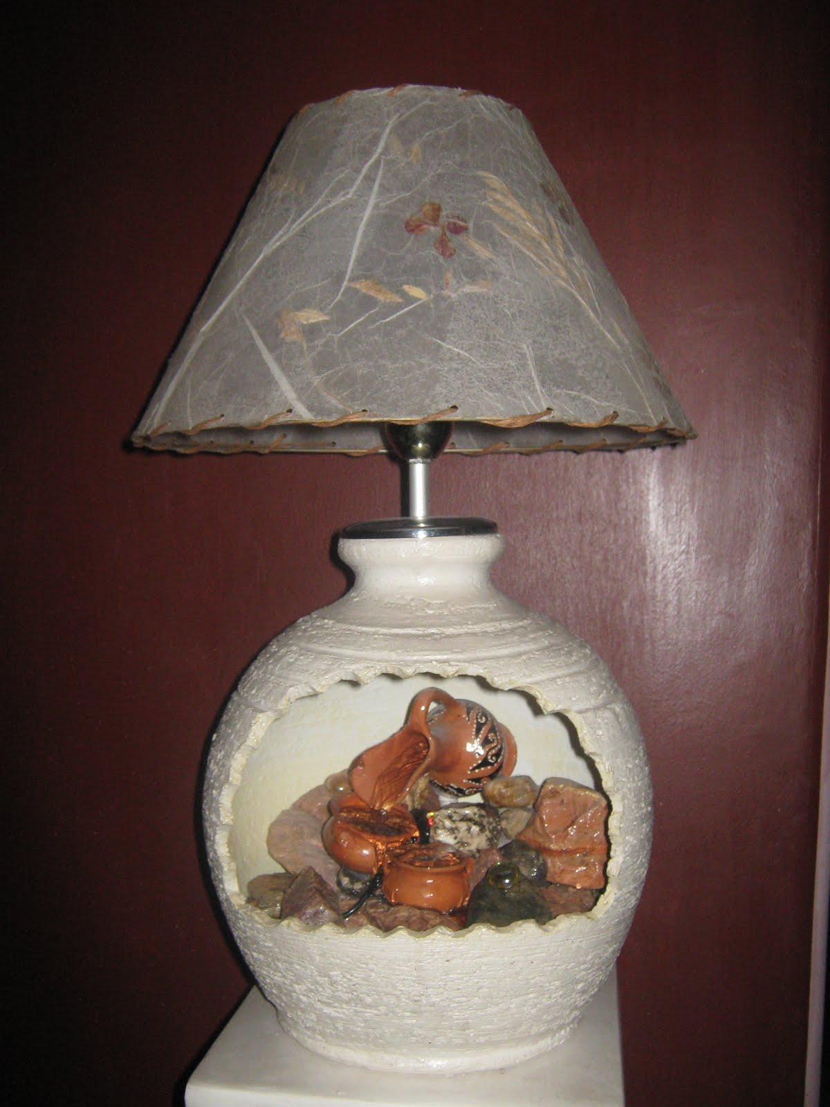 Artesan as did cticas lamparas y fuentes de agua - Lamparas y apliques de pared ...
