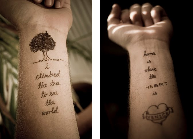 They Will Be Like Temporary Tattoos Hopefully The Sayings Will Stick