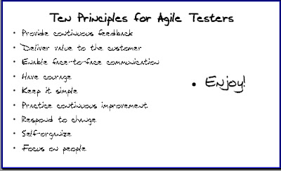 agile in a flash ten principles for agile testers rh agileinaflash blogspot com Quality Testing Software Testing Life Cycle