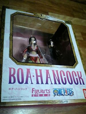ワンピース「Figuarts ZERO  ボア・ハンコック」を買ってきた。