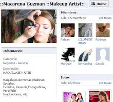 """Unete a  """"::Macarena Guzman:: Makeup Artist::"""" por Facebook"""