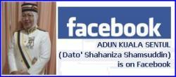 Dato' Shahaniza @ Facebook