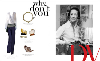 Fashion Icons Livejournal on From The Sartorial Grace Of Iconic Fashion Editor Diana Vreeland