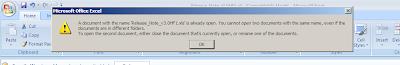 Error ilógico en Microsoft Office 2007