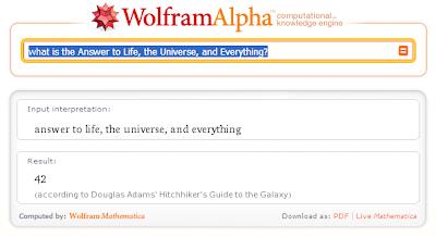 El significado de la vida, el universo y todo, según wolfram