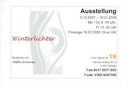 Ausstellung `Winterlichter´mit Steffen Brünner