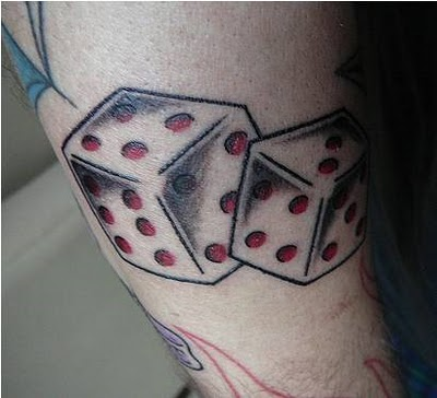 4 5 6 dice tattoos tattoo