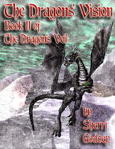 Cover for The Dragons' Vision (part II of The Dragons' Veil duology)