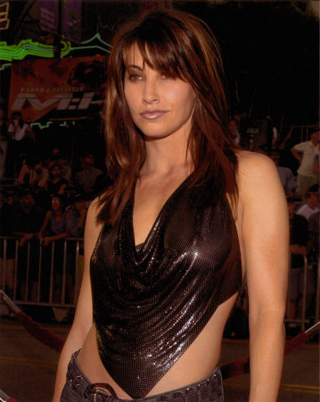 gina gershon see through black