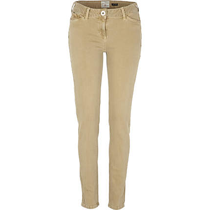 Miss Penny Dreadful tan colored trousers