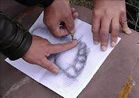 Pegada humana Bolivia human footprint
