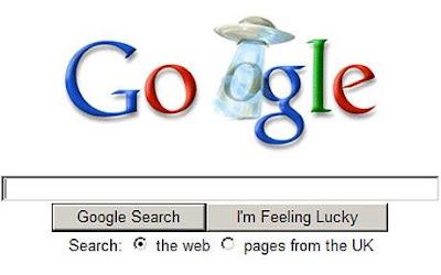 Google doodle ovni - ufo