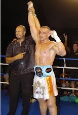 El Campeón Mundial de kickboxing