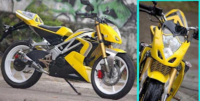 MODIFICATION YAMAHA JUPITER MX 135LC