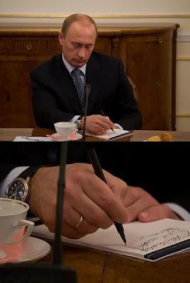 Putin's notations