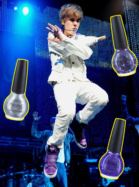 justin bieber one less lonely girl nail. justin bieber one less lonely