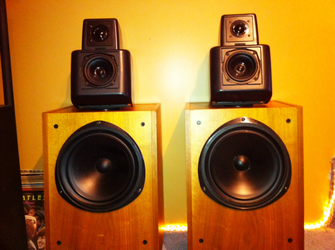 kef 105 speakers. kef 105.2 re-cap - second speaker kef 105 speakers i