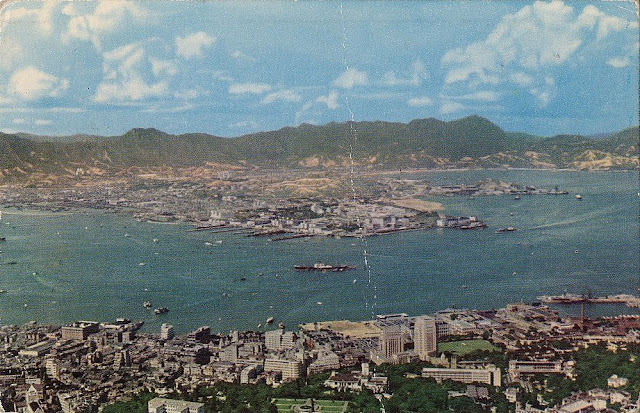 What is this on the postcard anno 1956