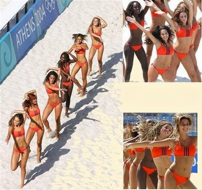 Bikinis - Athen 2004 Olypiade