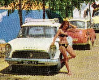1959 Bikini mit Isetta