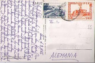 stamps of Peru