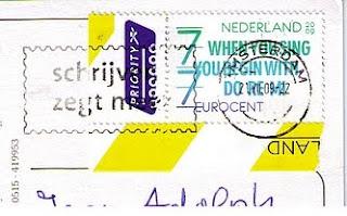Niederlande Briefmarke