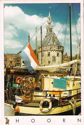 der Hoofdtoren - Hauptturm im Hafen