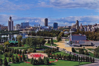 Yekaterinburg-City in Russland