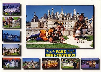Parc Mini-Châteaux von Amboise / Frankreich