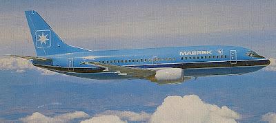 Boeing 737-300 - Mærsk Air