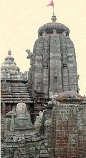 Lingarádzs templomának tornya, Bhuvanésvarban