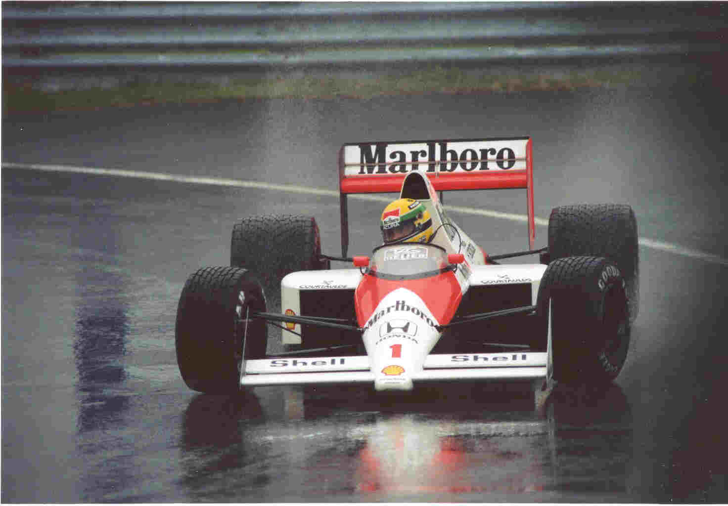 a cup of tea: on Ayrton Senna