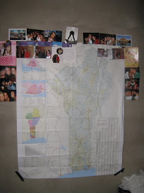 The map on my xall I have been talking about mom